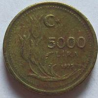 Турция, 5000 лир 1995 г