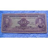Банкнота Венесуэла 10 боливаров 1990г 84873165 распродажа