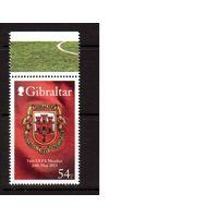 Гибралтар-2013 (Мих.1546) ** , Спорт, футбол