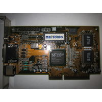 Видеокарта S3 Virge GX2 AGP 4mb/1998 год