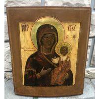 Икона Божией Матери Смоленская, 19 Век. Ковчег. Аналой!