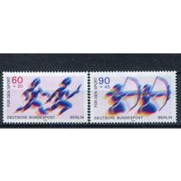 Берлин - 1979г. - Спортивная помощь - полная серия, MNH [Mi 596-597] - 2 марки