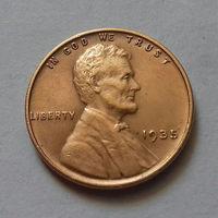 1 цент, США 1935 г.