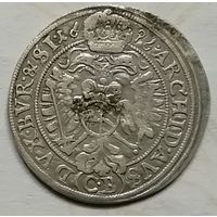 Австрия 3 крейцера 1696 г