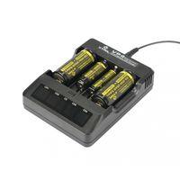 Универсальное Зарядное Устройство XTAR VP4 18650