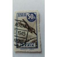 Испания 1945 марка авиакомп.