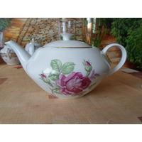 Великолепный заварной чайник чехословакия