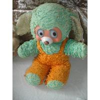 Мягкая игрушка винтаж Медведь Мишка или неведома зверушка 60-70 гг