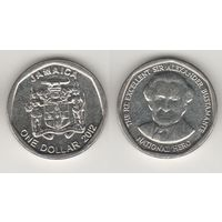 Ямайка km189 1 доллар 2012 год (al)(f14)*
