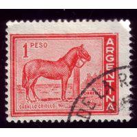 1 марка 1959 год Аргентина Лошадь 701