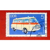 ГДР. Скорая помощь. ( 1 марка ) 1982 года.