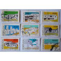 Португалия. Архитектура. 1985-89г.г. (9шт.)