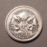 5 центов, Австралия 2001 г., AU