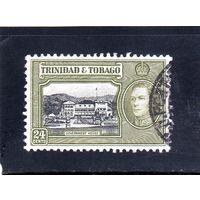 Тринидад и Тобаго.Ми-141.Король Георг VI. Дом правительства.Порт-оф-Спейн.1938