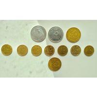 Монеты -Украина-11шт
