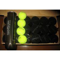 Мячи для большого тенниса Wilson us open профессиональные, фирменные, б.у. в хорошем состоянии. Пригодны для отработки ударов тенниссистов любителей а также тренеров. 20 туб по 4 мяча. 2 руб за мячик.