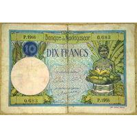 10 франков 1937г