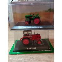 Тракторы: история, люди, машины 130 - ЮМЗ-6АК  +  81 - Fendt Dieselross F15 H6
