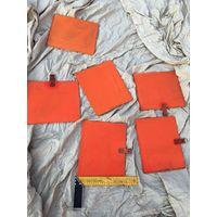 Из прочной шёлковой ткани рамка от спасательного снаряжения советского лётчика морской авиации