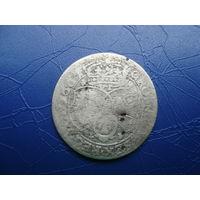 6 грошей (шостак) 1661 (1)         (2828)