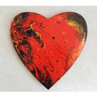 "Картина ""Пламенное сердце"""