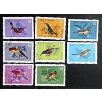 Вьетнам 1981 г. Птицы. Фауна, полная серия из 8 марок #0232-Ф1P53