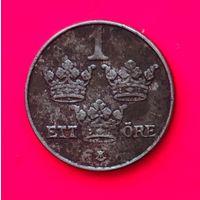 03-14 Швеция, 1 эре 1950 г.