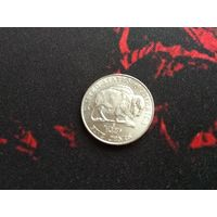 5 центов 2005 года США (Р)-34 Бизон