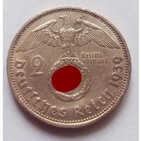 Германия, 2 марки 1939 г.