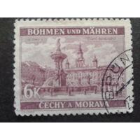 Рейх протекторат 1940 вид города