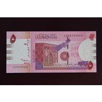 Судан 5 фунтов 2006 UNC