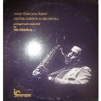 Dexter Gordon & Orchestra, More Than You Know, LP 1976