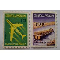 Парагвай. 2 чистых марки.