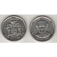 Ямайка km189 1 доллар 2012 год (al)(f15)