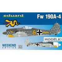 Fw 190A-4, сборная модель самолета 1/48 Eduard 84121