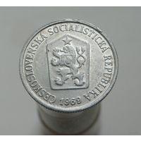 10 геллеров 1969 Чехословакия