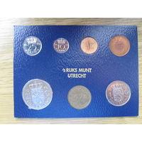 Нидерланды годовой сет монет 1978 в банковской упаковке - UNC
