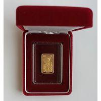 Иверская Икона Пресвятой Богородицы, 50 рублей 2013, золото