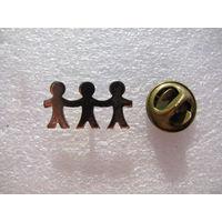 Знак. Детский фонд мира. (тяжёлый, цанга)