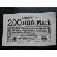 ГЕРМАНИЯ 200 000 МАРОК 1923 ГОД