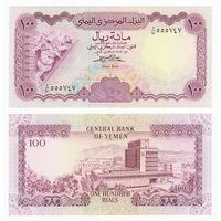Йемен 100 риалов образца 1984 года UNC p21Aa