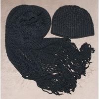 Комплект: шапка + шарф