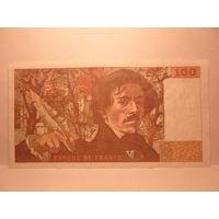 Франция  100  франков  1982 г.