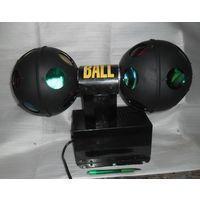 Механические световые  шары для танцпола или дискотеки. Ретро.