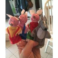Куколки на пальчики