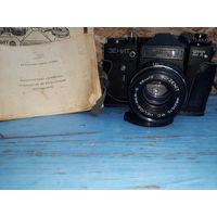 Фотоаппарат Зенит с рубля