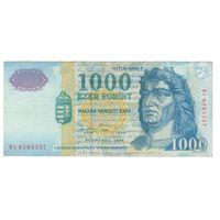 Венгрия 1000 форинтов 1999 года. Нечастая!