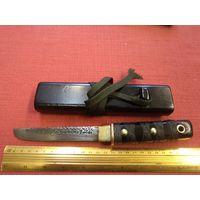 Нож ручной работы в деревянных ножнах(4).