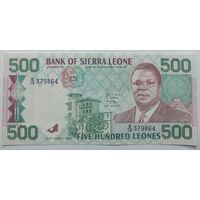 Сьерра-Леоне 500 леоне 1991, A-UNC, 273