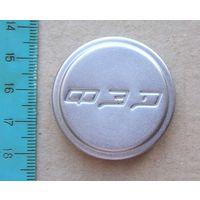 Крышка передняя ФЭД надпись квадратным шрифтом на складной объектив ФЭД и Индустар-22